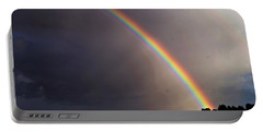 Over The Rainbow Portable Battery Charger by Joseph Frank Baraba