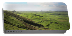 Over The Rim On Terceira Island, The Azores Portable Battery Charger by Kelly Hazel