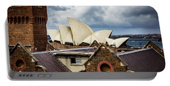 Portable Battery Charger featuring the photograph Over The Roof Tops by Perry Webster