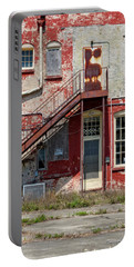Portable Battery Charger featuring the photograph Over Under The Stairs by Christopher Holmes