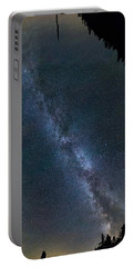 Overhead Pano Of Milky Way At The Pinacles View 2 Portable Battery Charger