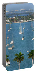 Overlooking A Miami Marina Portable Battery Charger