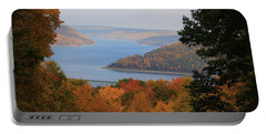 Overlooking Kinzua Lake Portable Battery Charger