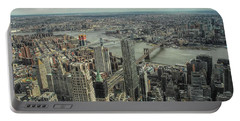Overlooking Manhattan's East River  Portable Battery Charger