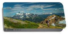 Overlooking Shuksan Portable Battery Charger