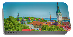 Overlooking Tallinn Portable Battery Charger
