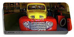 Overpainted 1950 Ford Pickup Portable Battery Charger