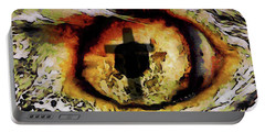 Portable Battery Charger featuring the digital art Overwhelmed Remember Him by Ernie Echols