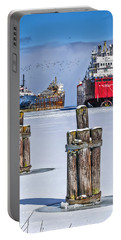Owen Sound Winter Harbour Study #4 Portable Battery Charger