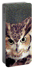 Owl By Patricia Griffin Portable Battery Charger