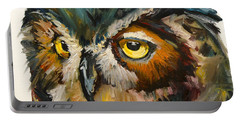 Owl Eye Portable Battery Charger