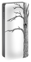 Owl Ink Tree Portable Battery Charger
