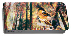 Owl Medicine 2015 Portable Battery Charger