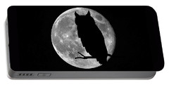 Owl Moon Portable Battery Charger