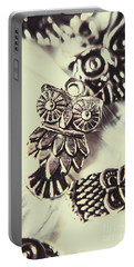 Owl Pendants. Charms Of Wisdom Portable Battery Charger