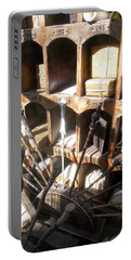 Portable Battery Charger featuring the photograph Owl Post Office Hogsmeade by Juergen Weiss
