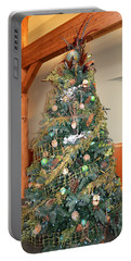 Owl Xmas Tree Portable Battery Charger