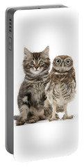 Owling And Yowling Portable Battery Charger