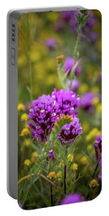 Portable Battery Charger featuring the photograph Owl's Clover by Peter Tellone
