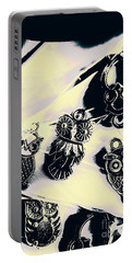 Owls From Blue Yonder Portable Battery Charger