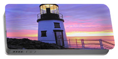 Owls Head Light Portable Battery Charger