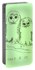 Owlz R Us Portable Battery Charger