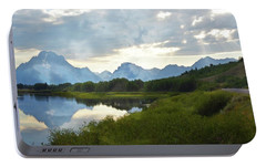 Portable Battery Charger featuring the photograph Oxbow Bend 13d by Marty Koch