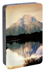 Portable Battery Charger featuring the photograph Oxbow Bend 14 by Marty Koch