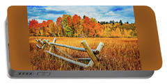 Oxbow Bend Fall Color Portable Battery Charger