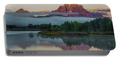 Oxbow Bend Sunrise- Grand Tetons Portable Battery Charger