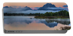 Oxbow Bend Sunrise- Grand Tetons Version 2 Portable Battery Charger