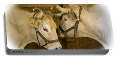Oxen Team Portable Battery Charger
