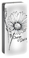 Oxeye Daisy Portable Battery Charger
