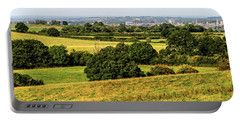 Oxford Spires And Countrysidepanorama Portable Battery Charger