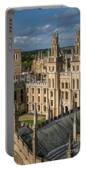 Portable Battery Charger featuring the photograph Oxford Spires by Brian Jannsen