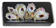Oyster Reef Portable Battery Charger by Phyllis Beiser