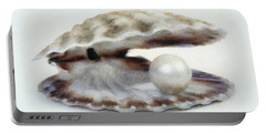 Oyster With Pearl Portable Battery Charger
