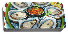 Oysters On The Half Shell Portable Battery Charger
