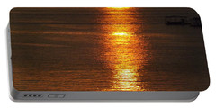 Ozark Lake Sunset Portable Battery Charger