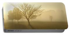 Ozarks Misty Golden Morning Sunrise Portable Battery Charger
