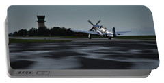 Portable Battery Charger featuring the photograph P-51  by Douglas Stucky