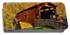 Pa Covered Bridge Portable Battery Charger