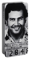 Pablo Escobar Mug Shot 1991 Vertical Portable Battery Charger