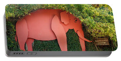 Pachyderm Sign Portable Battery Charger