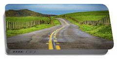 Pacific Coast Road To Tomales Bay Portable Battery Charger