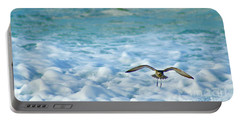 Pacific Golden Plover Flying Portable Battery Charger