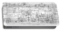 Pacific Locomotive Diagram Portable Battery Charger