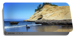 Portable Battery Charger featuring the photograph Pacific Morning by David Chandler