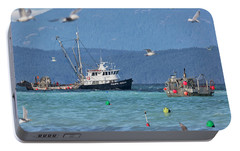Portable Battery Charger featuring the photograph Pacific Ocean Herring by Randy Hall