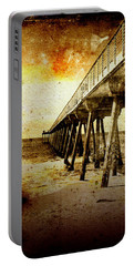 Portable Battery Charger featuring the photograph Pacific Pier by Phil Perkins